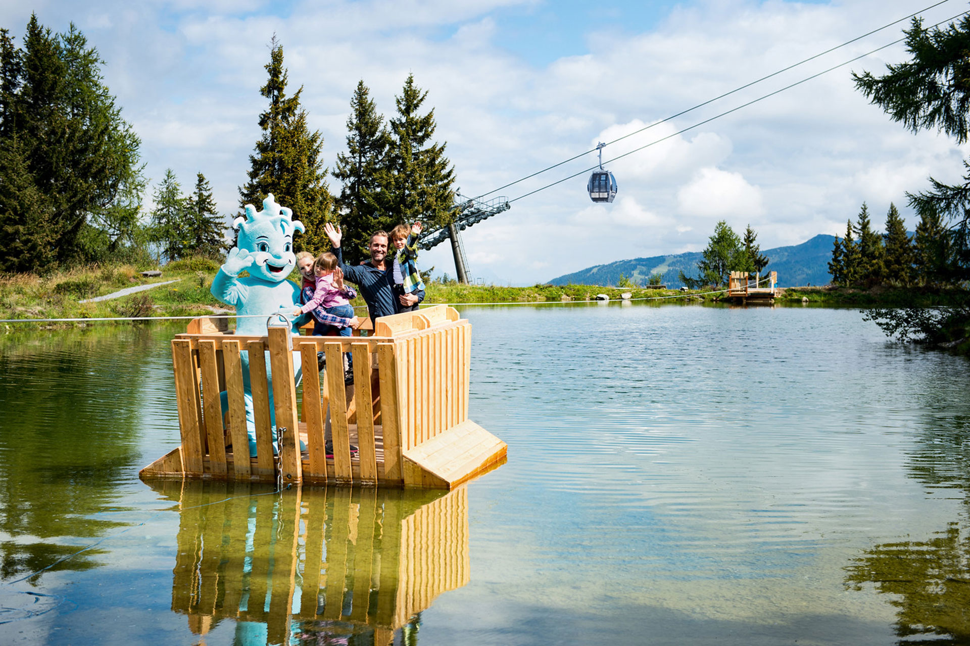 Casa Alpina Goldegg - Familienurlaub