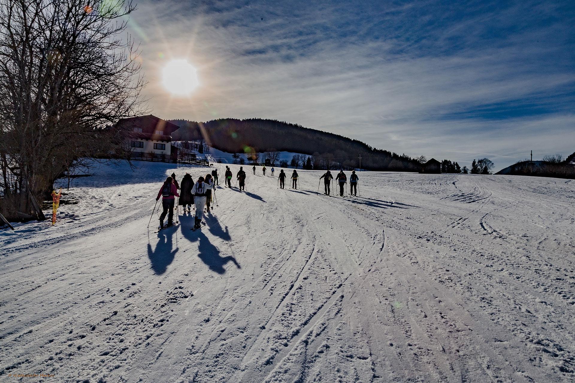 Casa Alpina Goldegg - Langlaufen